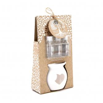 Tree of Life Fragrance Oil Burner Set