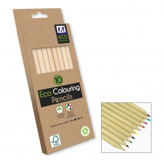 Eco Colouring Pencils - 10 pack