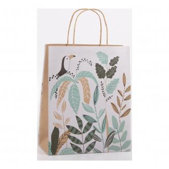 Eco Toucan Floral Gift Bag