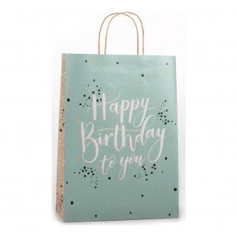 Eco Happy Birthday Gift Bag