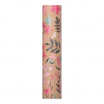 Eco Rainforest Floral Gift Wrapping Paper