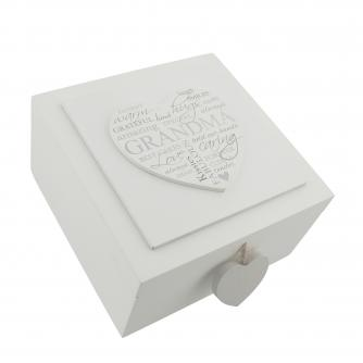 Grandma Keepsake Box, Mother's Day Gifts, Cancer Research UK