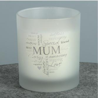 Mum Candle, Mother's Day Gifts, Cancer Research UK