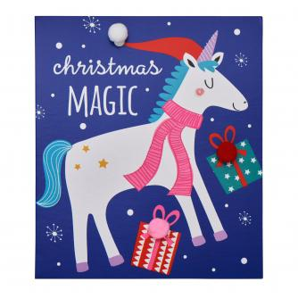 Magical Christmas Unicorn Christmas Cards - Pack of 6