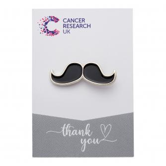 Moustache Pin Badge
