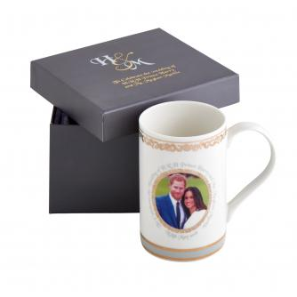 Harry and Meghan Royal Wedding China Mug