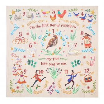On The First Day... Christmas Cards - Pack of 10