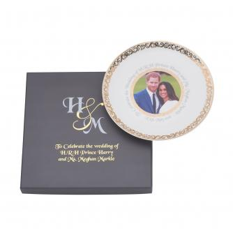 Harry and Meghan Royal Wedding China Plate