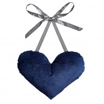 Post Surgery Heart Cushion in Navy Cord