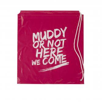 Pretty Muddy Drawstring Bag