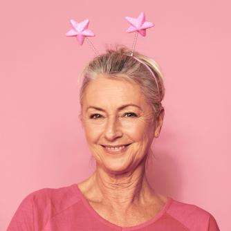 Race for Life 2019 Star Head Boppers