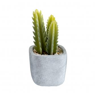 Mini Artificial Cactus Pot