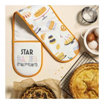 The Great Stand Up To Cancer Bake Off Star Baker Double Oven Gloves