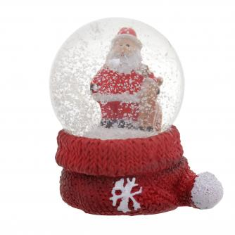 Mini Santa Water Globes Cancer Research UK Christmas Gift