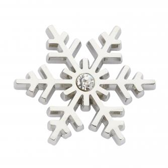 Snowflake Pin Badge, Cancer Research UK