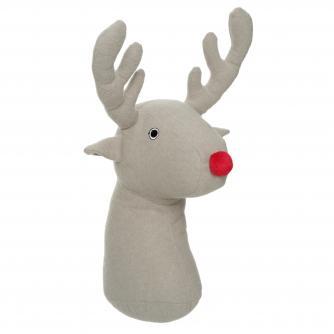Reindeer Door Stop Cancer Research UK Christmas Gift
