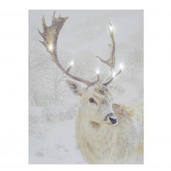 stag mounted print cancer research uk christmas gift