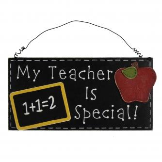 Cancer Research UK Online Shop, Thank You Teacher Gifts, Wall Plaque – My Teacher Is Special