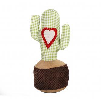 Cactus Check Doorstop