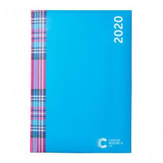 Tartan Print 2020 Desk Diary