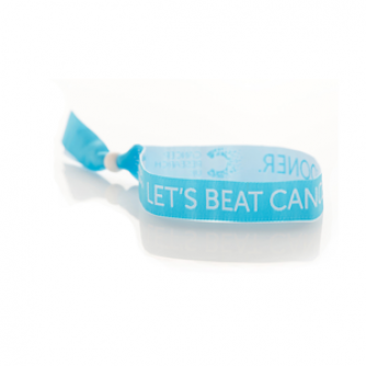 Teal Wristband, Cancer Research UK