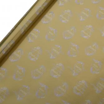 Tom Smith Golden Winter Wishes Wrapping Paper