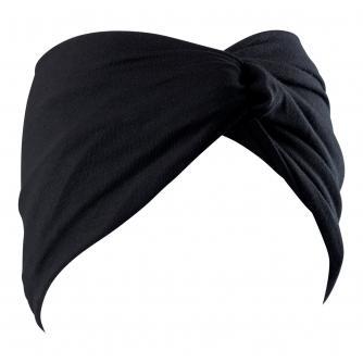 Hipheadwear® Twist Headband in Black