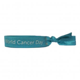 World Cancer Day Unity Band 2021 - Light Blue