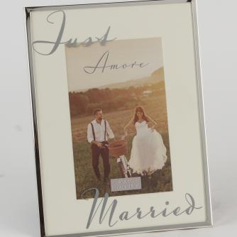 Just Married Frame, Wedding Gifts, Cancer Research UK