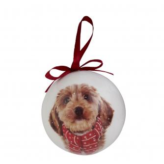 Winter Dog Bauble
