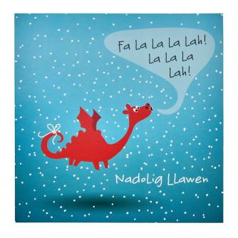 Winter Welsh Dragon Christmas Cards - Pack of 20