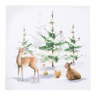 Winter Woodland Christmas Cards - Pack of 10