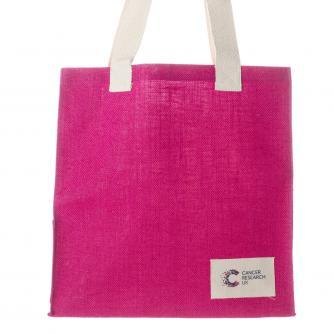 Cancer Research UK Jute Bag
