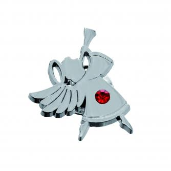 angel pin badge, xmas