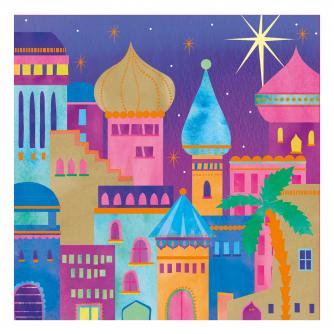 bejewelled bethlehem cancer research uk christmas card