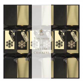 black and gold crackers, cancer research uk