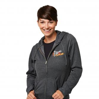 Stand Up To Cancer Women's Grey Hoodie