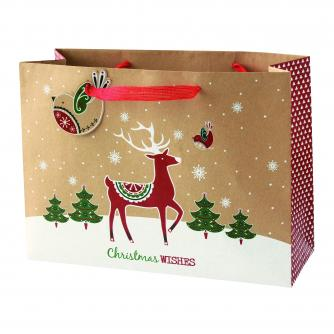 Kraft Large Bag Cancer Research uk Christmas Bag