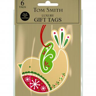 Kraft Tags Cancer Research uk Christmas Tags