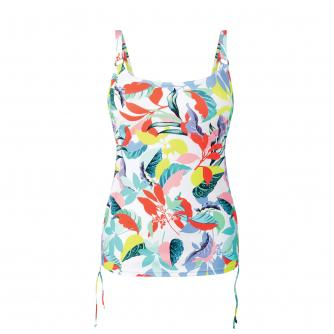 Anita Latina Splash Pocketed Tankini in Multi
