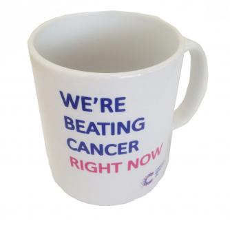 We're Beating Cancer Right Now Mug