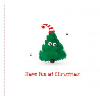 o christmas tree cancer research uk christmas card