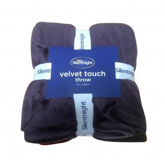Silentnight Velvet Touch Throw