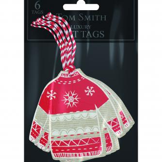 Scandinavian tags Cancer Research uk Christmas tags