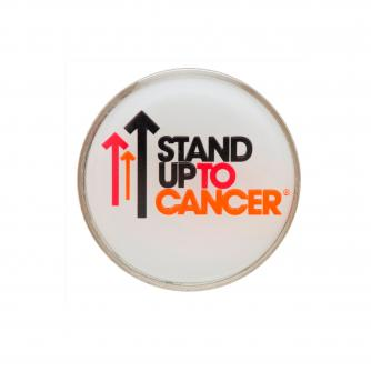 Stand Up To Cancer Coloured Circular Pin Badge